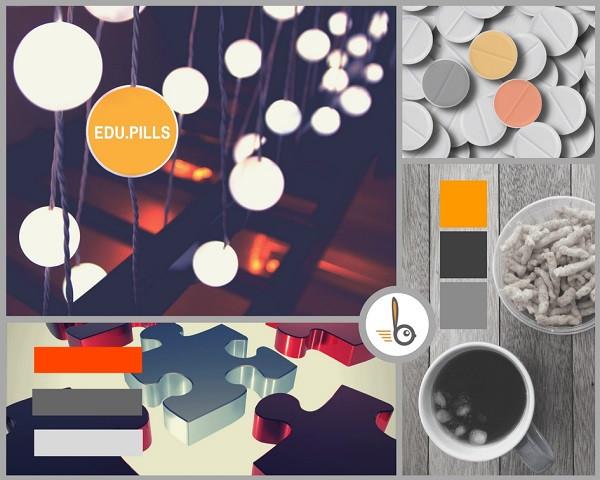 concept moodboard con Canva