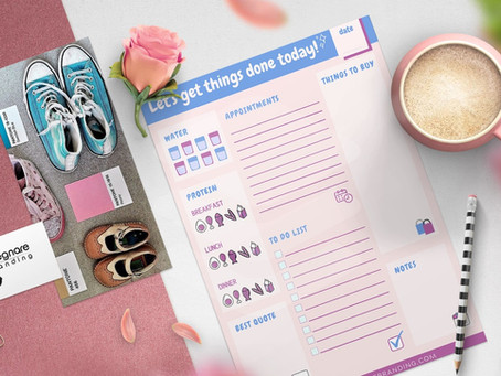 Free daily planner by Insegnare Branding