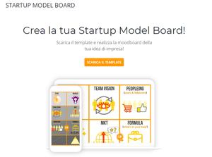 Starup Model Board | landing page