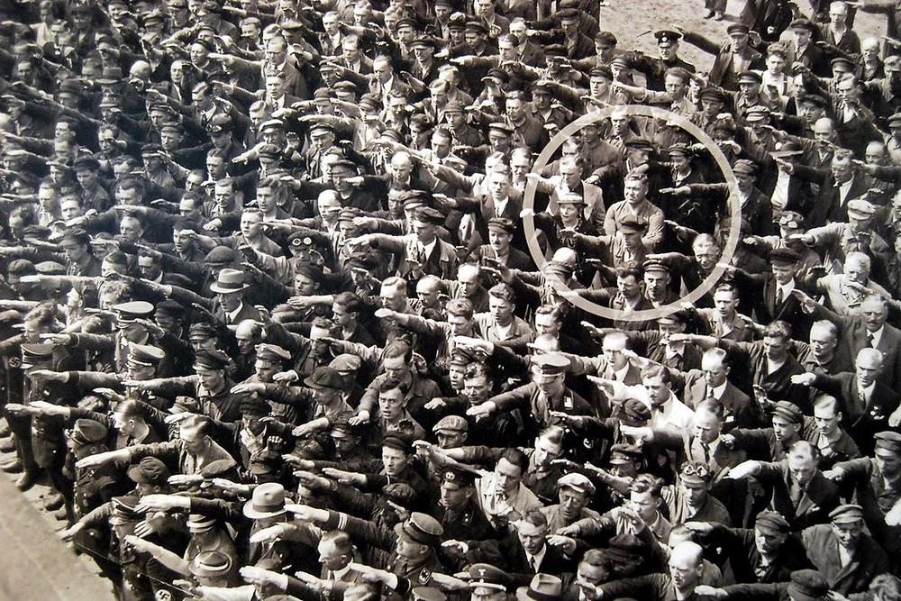 dire no al nazismo