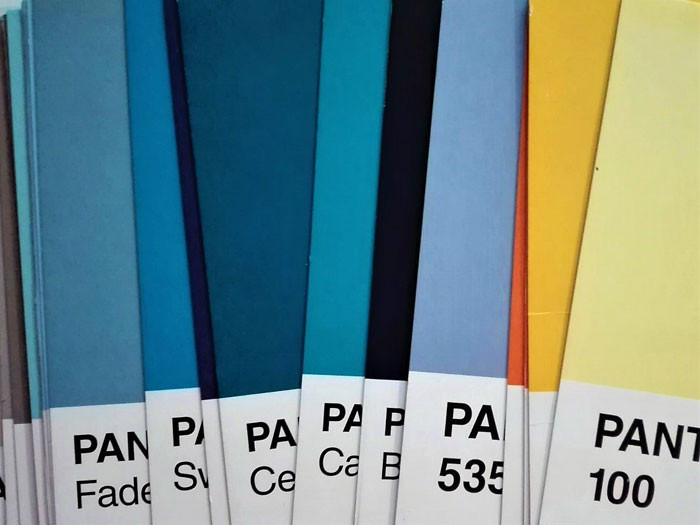Pantone scala cromatica
