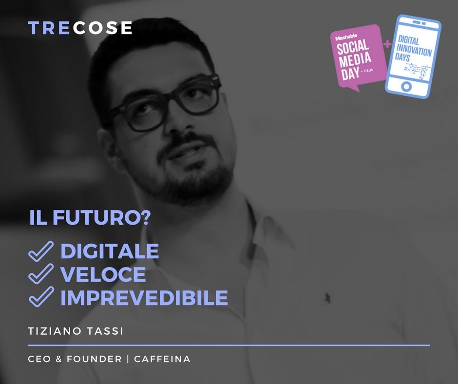 Tre cose: Tiziano Tassi | Insegnare Branding | il visual personal branding in pillole