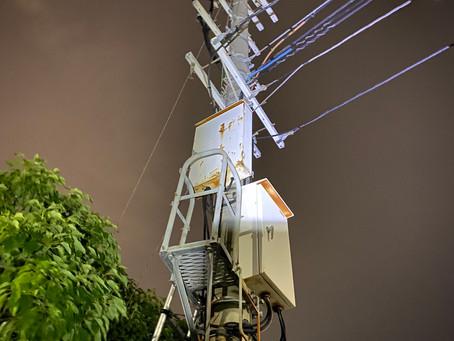 突発的な全停電、緊急出動❗️