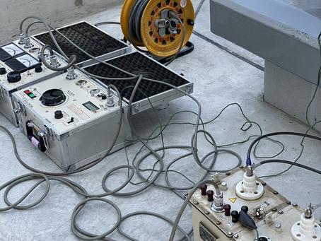 ホテルコルディア、新設受電に伴う竣工試験を実施しました。