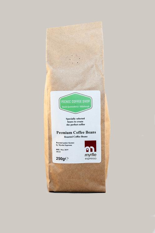 Coffee beans 250g