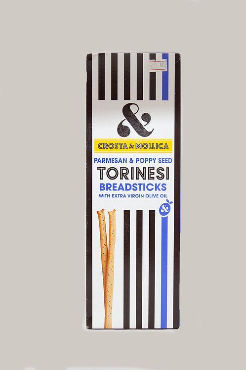 Torinesi Breadsticks - Parmesan & Poppy Seed