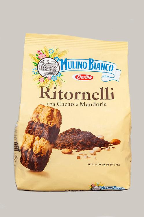 Ritornelli con Cacao e Mandorle biscuits