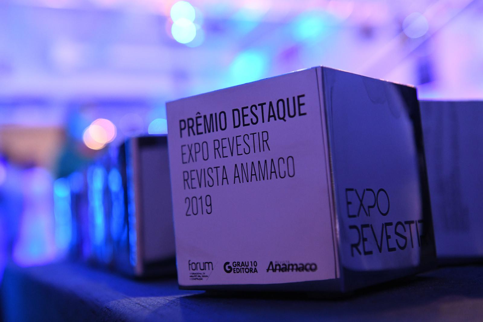 Prêmio Destaque - Expo Revestir Revista Anamaco 2019