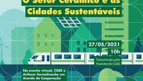 Participe do Webinar: O Setor Cerâmico e as Cidades Sustentáveis