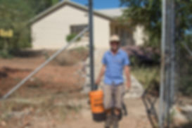 Baboon-Proof Electric Fence Around Property