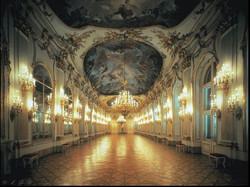 Зеркальный зал во дворце Шёнбрунн