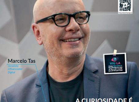 Marcelo Tas, o curioso, na revista Empreende