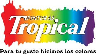 Logo pintura tropical