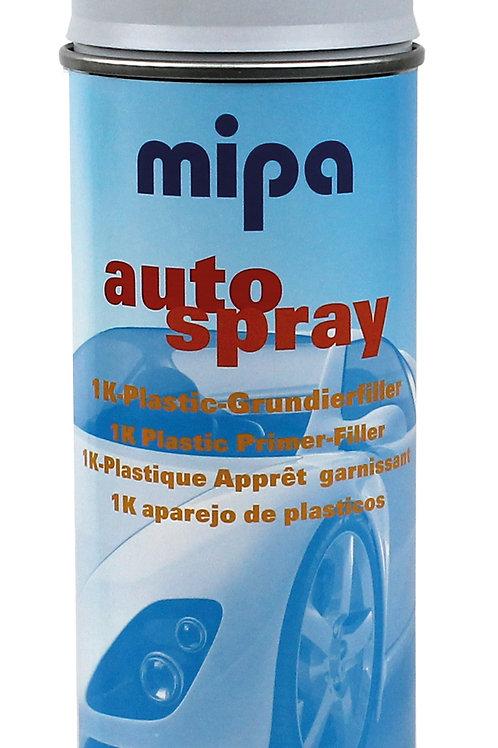 SPRAY P/PLASTICO MIPA GRIS OSCURO 400ML