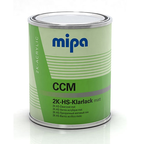 CLEAR COAT MATE MIPA 2K HS CCM 1 LTR S/ACTIV. 2:1