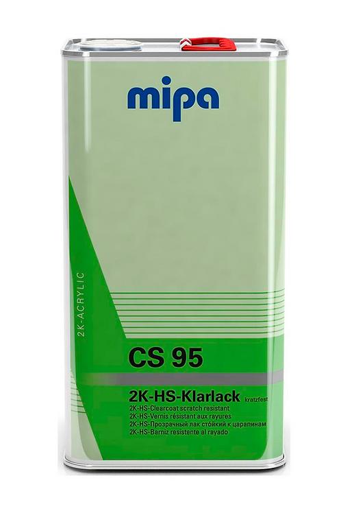 CLEAR COAT MIPA 2K-HS CS 95 1 L ANTI ARAÑAZOS  S/ACTIV.