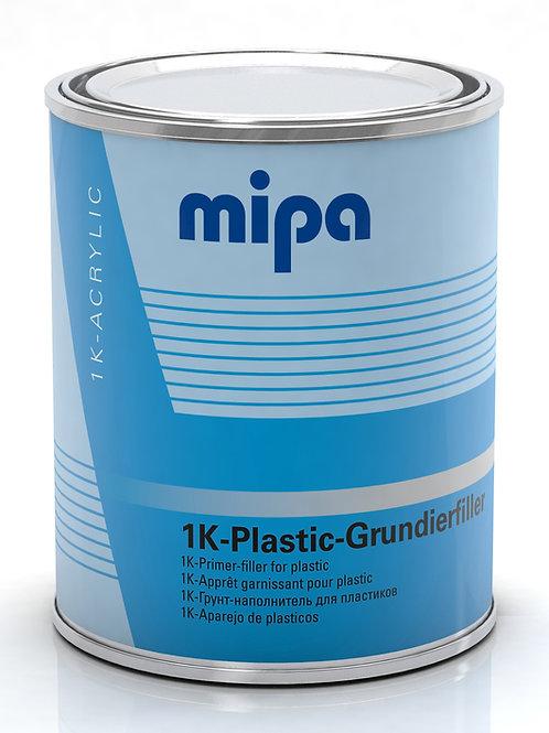 RELLENO PLASTICO MIPA 1K GRIS CLARO   (1 LITRO)