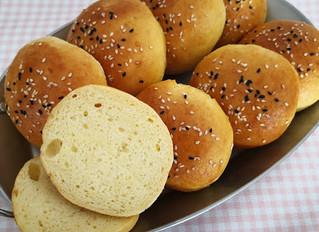 Glutenfreie Burger-Brötchen