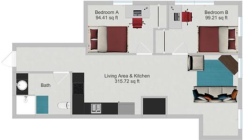 North Star Apartments Floor Plans | Dinkytown Apartments | Minneapolis