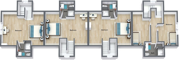 GGR - 505 8th St - 3rd Floor - 3D Floor