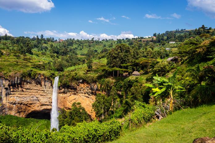 Uganda Waterfall