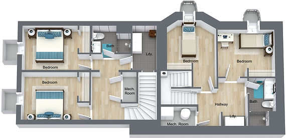 GGR - 959 17th - Basement - 3D Floor Pla