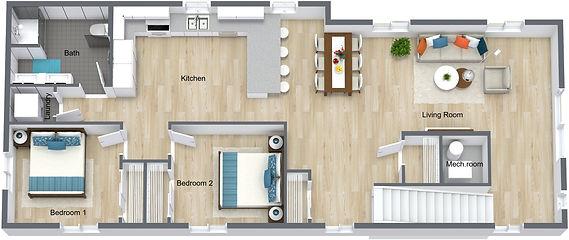 GGR 1519 Rollins - 2nd Floor - 3D Floor
