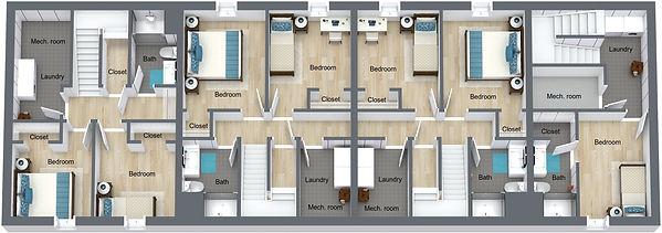 GGR - 505 8th St - Basement - 3D Floor P