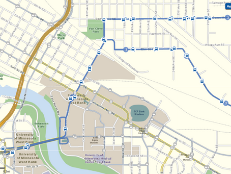 How To Take The Bus To UMN Campus From Como and Dinkytown