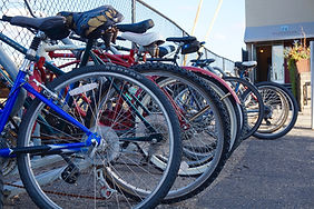 Free bike racks at the Northstar