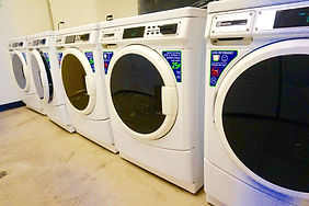 Northstar apartment's laundry facilty