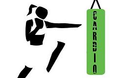 Cardio kickboxing icon