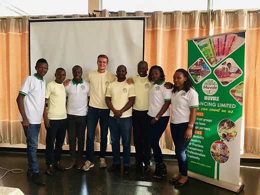 Clark Varin with Muvule Financing Team