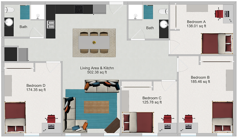Beautiful North Star Apartments Floor Plans | Dinkytown Apartments | Minneapolis