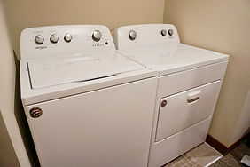 The Burro Apartments Laundry Unit