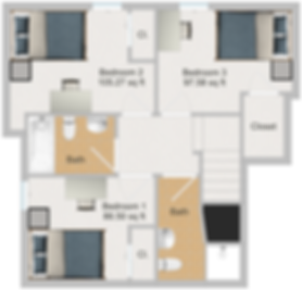Northstar Dinkytown Apartments Two Bedroom Floor Plan A