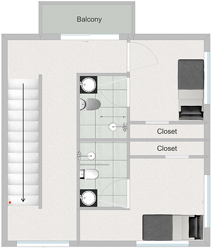 Burrow 913 Floorplan 2nd Level