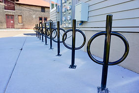 The Burrow Apartments Bike Parking