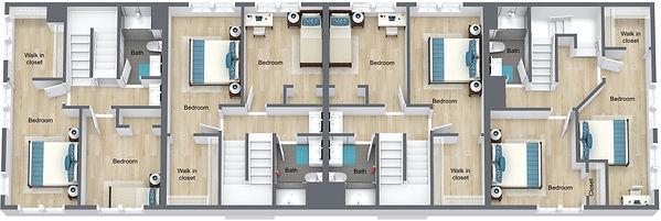 GGR - 505 8th St - 2nd Floor - 3D Floor