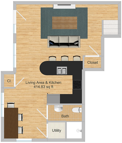The Cluster Dinkytown Apartments Three Bedroom Floor Plan 100