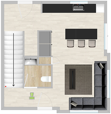 Burrow 913 Floorplan 1st Level