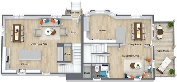 GGR - 959 17th - Main Floor - 3D Floor P