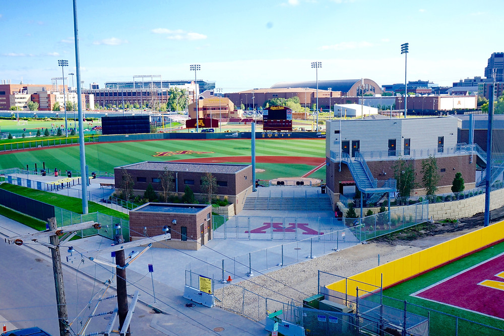 View of Siebert Field from the Northstar Apartments