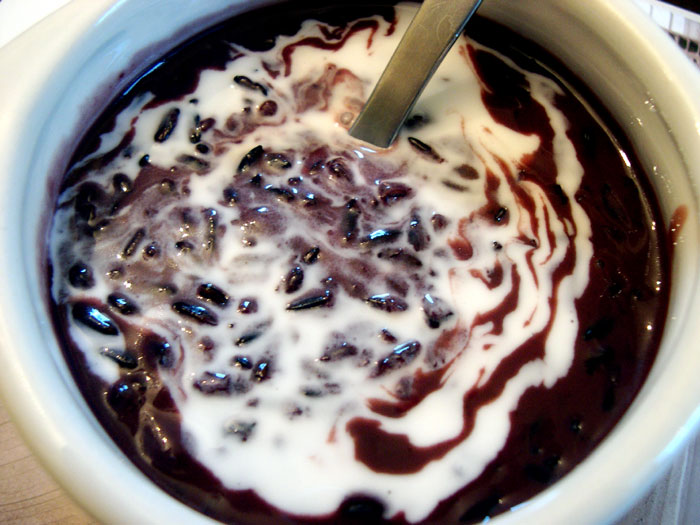 Purple Rice Pudding