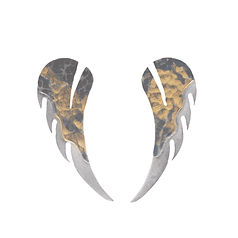earring, keum-boo, wing