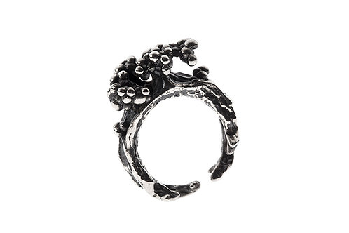 Silk&Silver 'Rooting In' ring