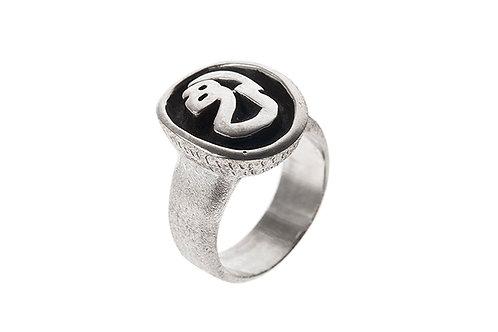 Silk&Silver 'Looking Inside' ring