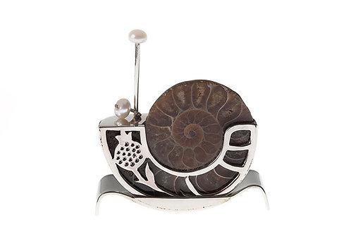 Silk&Silver 'Imperial Snail' ornament