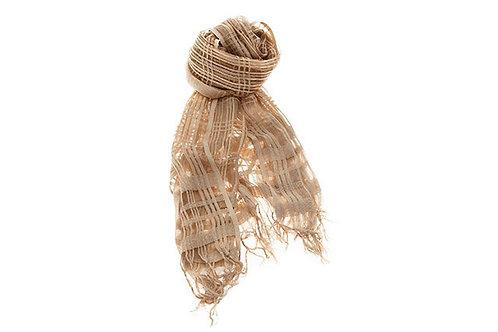 Silk&Silver 'Ecru' shawl