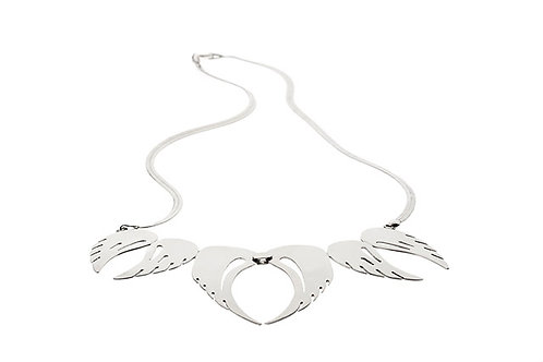 Silk&Silver 'Angel Band' necklace